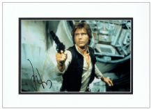 Harrison Ford Autograph Signed Photo - Star Wars
